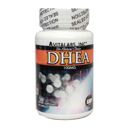 DHEA 100mg - 90 Capsules - The Youth Hormone